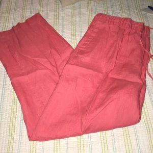 Charter Club Linen Pants 1541